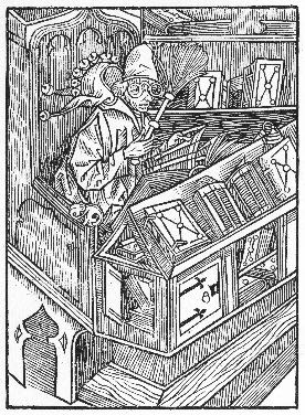 Buchnarr, 1494. Ware! Ware! Ware the Book-Fool!