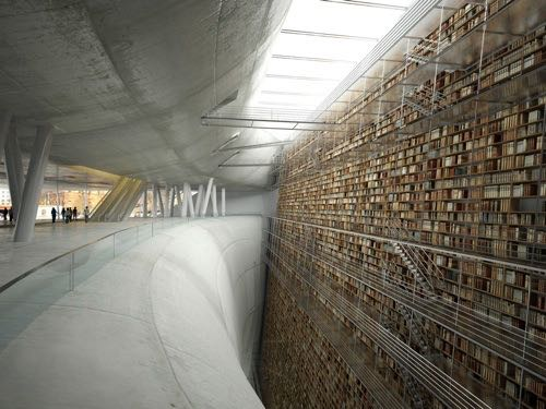 From The Long Now Blog This Picture Of Vast Shelves A Library Concept Vertical Beautiful Not Very Borgesian